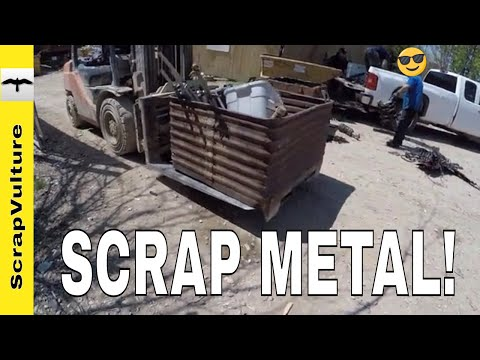 IT'S JUST TOO MUCH! - SCRAP YARD TRIP ACTION
