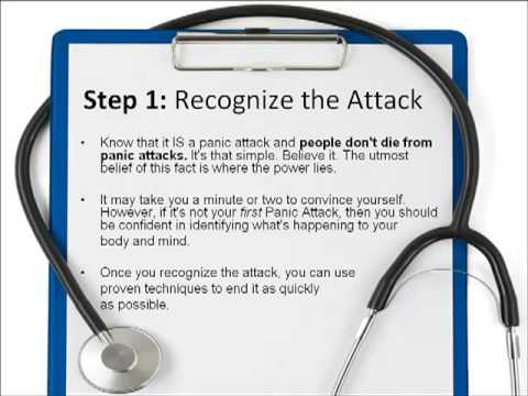 How to Stop a Panic Attack in 5 Minutes
