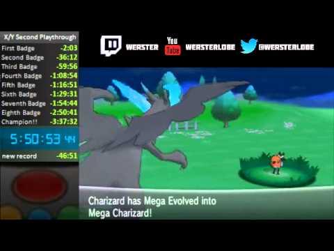 Pokemon X/Y Mega Charizard X Mega-evolution