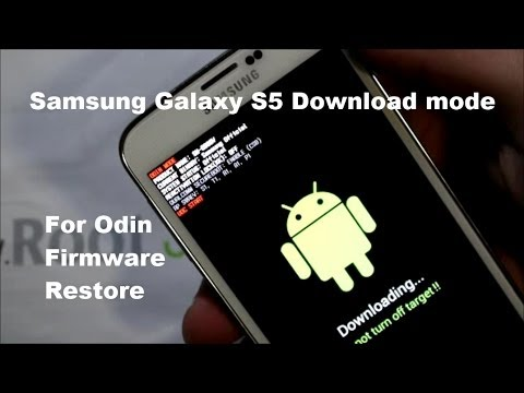 How to Enter Download Mode on the Samsung Galaxy S5