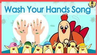Download Wash Your Hands Song | Music for Kids | The Singing Walrus Video