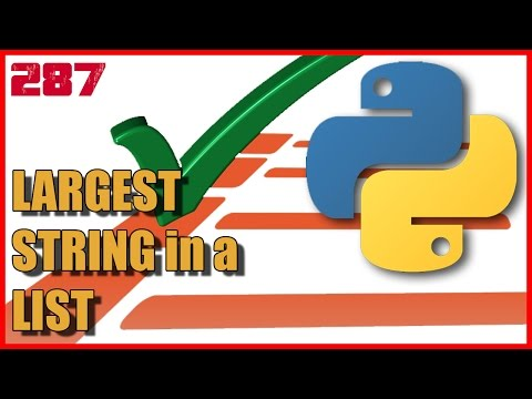 PYTHON Largest string in list using FOR loop