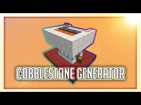 AFK Cobblestone Generator [GOOD FOR SKYBLOCK!] | 1.8+