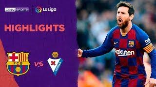 Barcelona 5-0 Eibar   LaLiga 19/20 Match Highlights