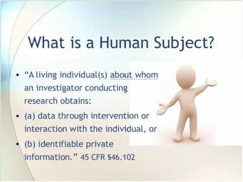 Protecting Human Subjects and Institutional Review Boards: An Overview