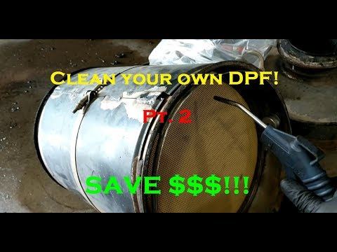 How to Clean a DPF Pt.2 - Drying