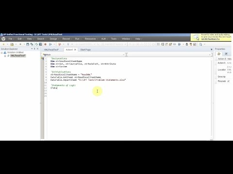 VBscript XML Read data with/ without QTP/UFT