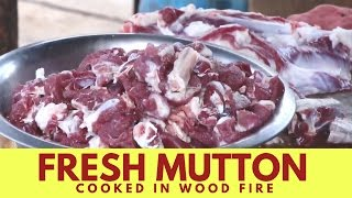 15 Pounds Lamb Meat  - Mutton Cooked  by Bargur Famous Chandai Kari Hotel - Indian Street Food