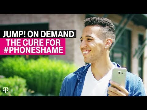 JUMP! On Demand: The Cure for #PhoneShame | T-Mobile Commercial