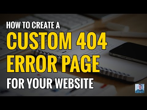 How to Create a Custom Error 404 Not Found Page