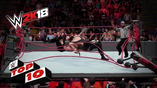 OMG moments!: WWE 2K18 Top 10