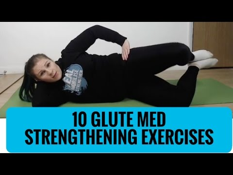 10 Glute Medius Exercises -- Strength exercises for glutes