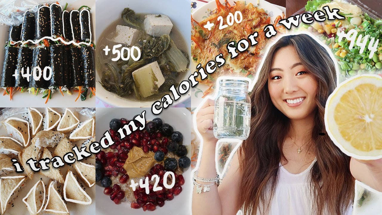 I TRACKED MY CALORIES FOR A WEEK (INTUITIVE EATING) | What I Eat in a Week (Minimal Exercise)