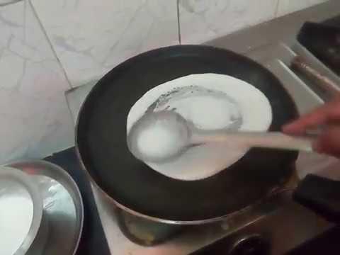 Big Plain Dosa Crispy Recipe | Popular South Indian Breakfast Dosa   Snacks Recipe Prepared At Home