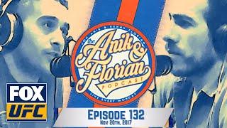 Werdum vs. Tybura, Daniel Cormier, Dustin Poirier   Episode 132   ANIK AND FLORIAN PODCAST