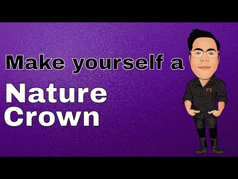 Make yourself a Nature Crown