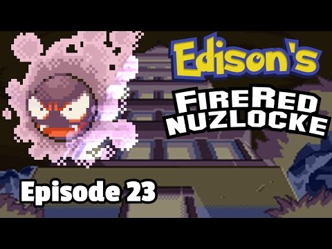 Pokemon FireRed Nuzlocke, Episode 23: Ghosts. ghosts, everywhere!
