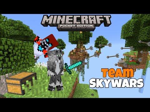 Minigame mondays Team Skywars w/ blockotRon