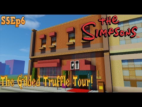 Minecraft Simpsons S05: The Gilded Truffle Tour!