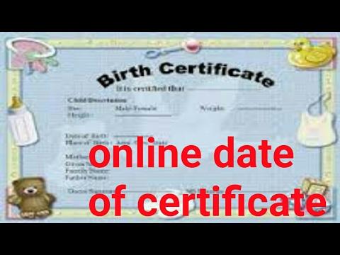 how to apply Date of Birth Certificate online UP //अब घर बैठे बनाएं जन्म प्रमाण पत्र ऑनलाइन यूपी