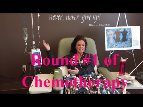 CHEMO TREATMENT #1---A look into the Chemo Ward