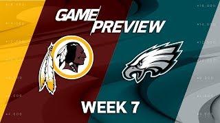 Washington Redskins vs. Philadelphia Eagles   Week 7 Game Preview   Move the Sticks