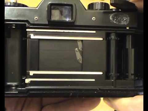 How to Check / Test / Load an SLR 35mm Film Camera Part 1 - Shutter Speed / Mirror / Light Seal