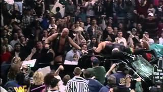 Stone Cold Steve Austin vs The Rock IC Championship match