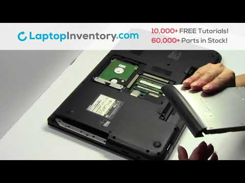 How to replace Laptop DVD/CD Toshiba Satellite C70. Fix, Install, Repair C55 C850 L55 S855