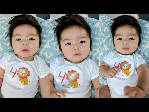 4 MONTH OLD BABY UPDATE! | Sleep Regression, Teething