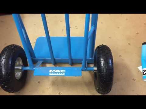 Mac Allister 300kg Blue Sack Barrow Review