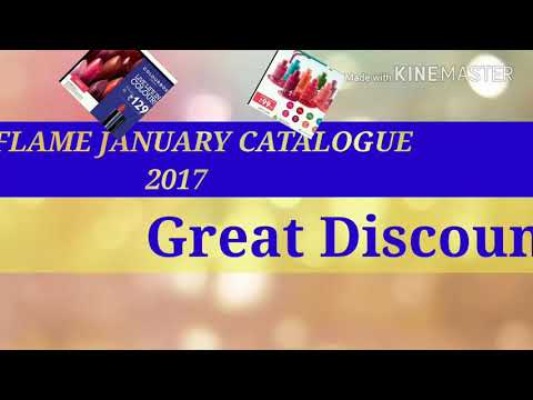ORIFLAME JANUARY CATALOGUE 2018/MOST DISCOUNT/GLAM INDIAN GIRL