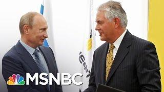 Ex-Russian Minister: Rex Tillerson