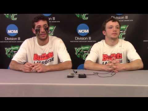Gettysburg College Men's Lacrosse Postgame - 5/18/16 vs. York