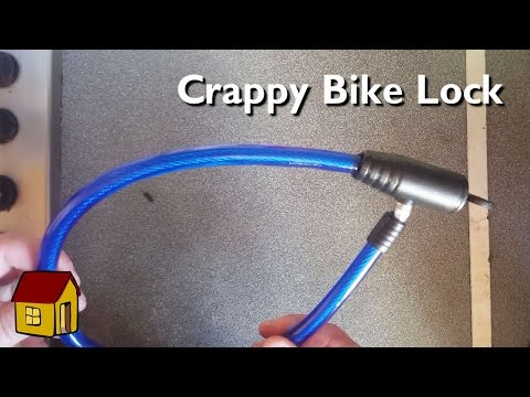 The dangers of a cheap bike lock