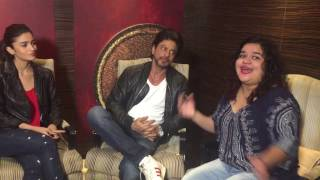 Shah Rukh Khan, Alia Bhatt, Gauri Shinde Interview with Team MissMalini | Dear Zindagi
