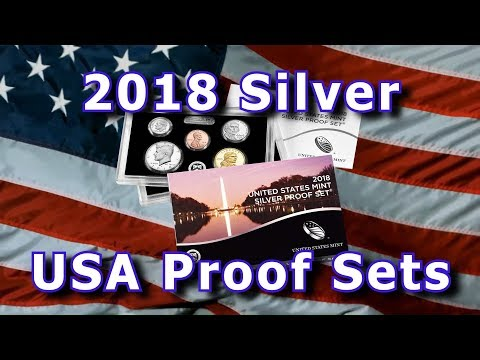 US Mint Releases 2018 Silver 10 Coin Proof Sets