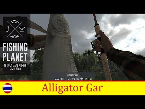 Fishing Planet - How to Catch Alligator Gar  in MISSOURI