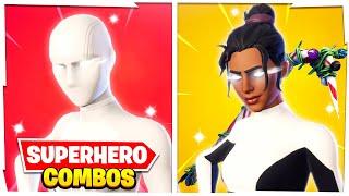 5 New SWEATIEST Superhero COMBOS in Fortnite!