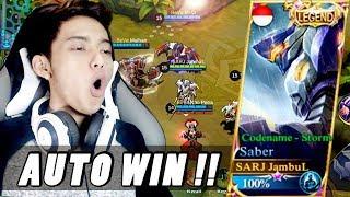 SKIN MEWAH BERSATU AUTO WIN DONG !! ft. Manteman - Mobile Legends Indonesia