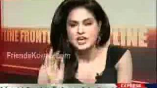Venna Malik Fight In Front Line With Kamran Shahid Part 2 = 21st January 2011