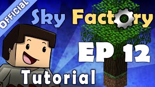 Minecraft - How to build a Mob Farm (Sky Factory 2) - PakVim net HD