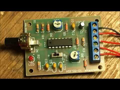 The ICL8038 oscillator