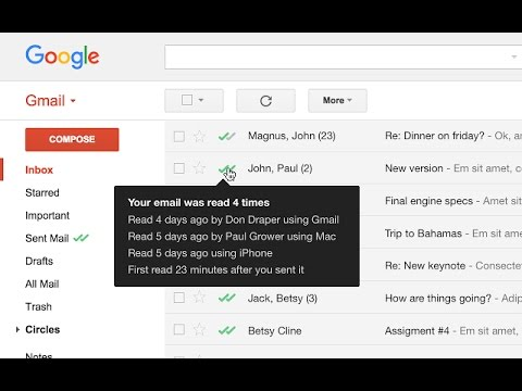How to Know Your Email Open and Read on Gmail