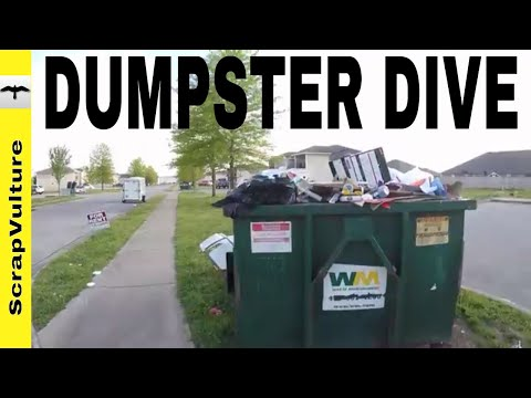 Reality DUMPSTER Diving & INTRODUCING The CRITTER CAM !
