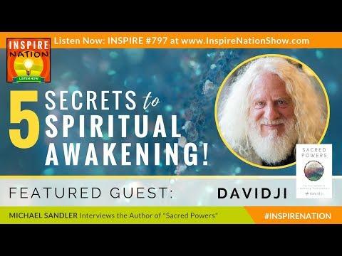 🌟DAVIDJI: 5 Secrets to Spiritual Awakening, Opening Your Heart & Connecting with God | Sacred Powers