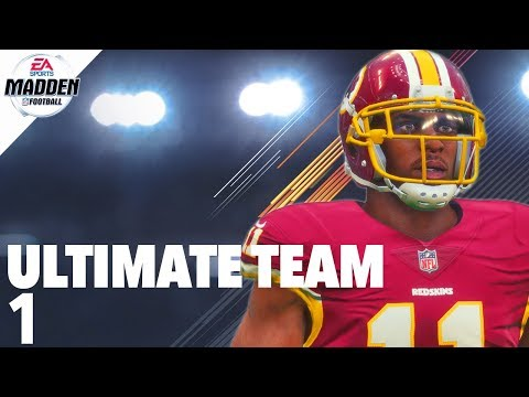Madden 18 Ultimate Team - From The Ground Up Ep.1