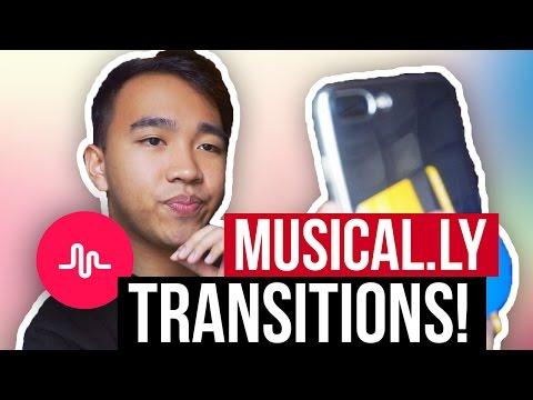 MUSICAL.LY TRANSITIONS TUTORIAL! (Spin, Glitch, Upside Down + MORE!)