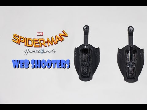 Make Functional Spider Man Homecoming web shooters