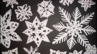 Fiocchi Di Neve Di Carta Fai Da Te : Fiocchi di neve fai da te videos tube tv